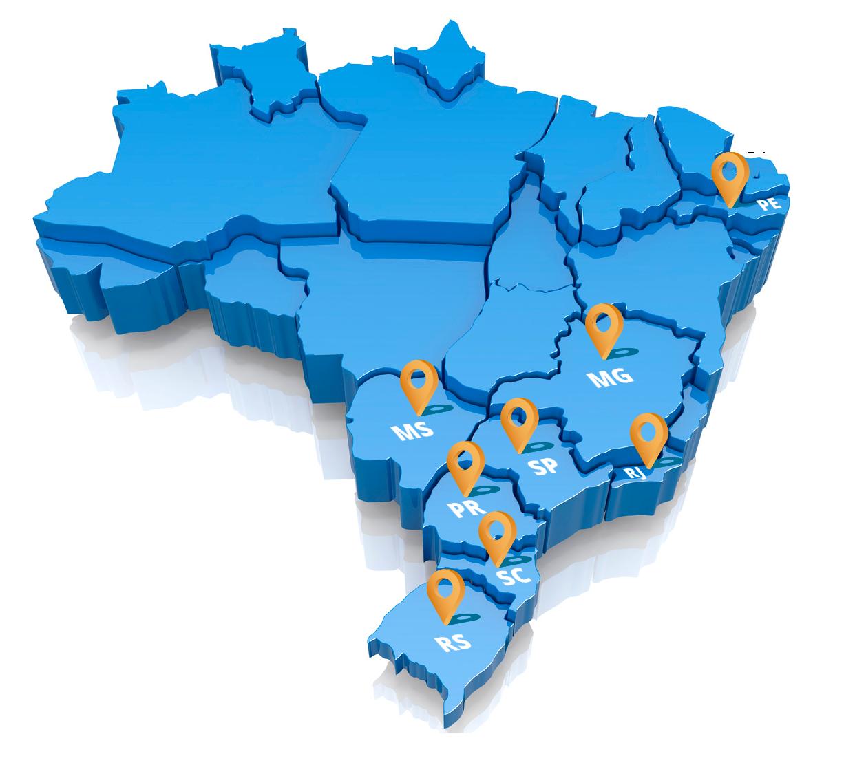 Mapa-estados